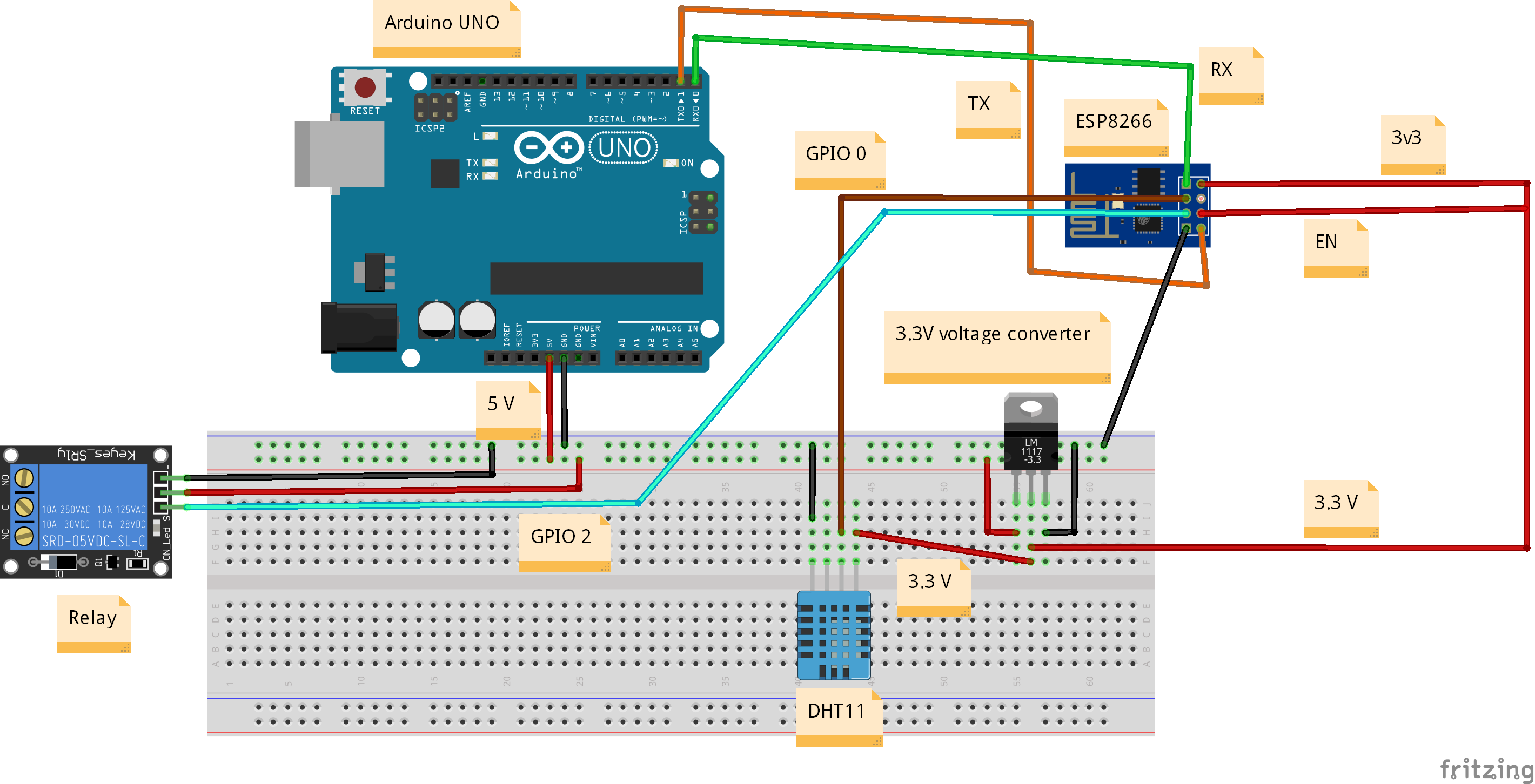 Arduino alexa ynlluz2d54