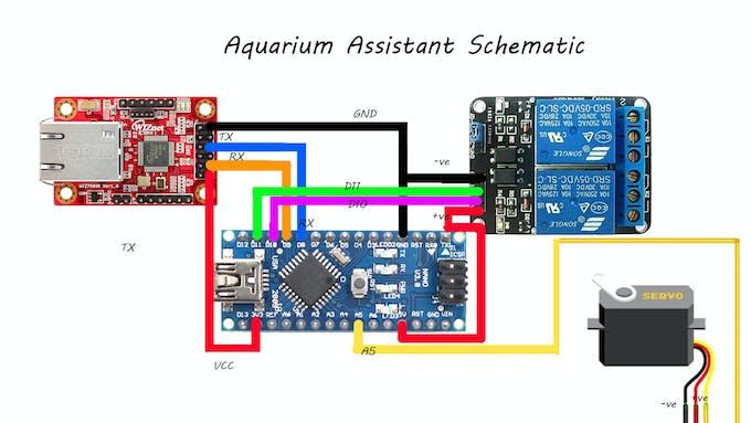 Aquarium Assistant Schematic