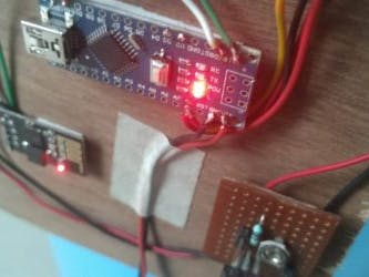 IOT Smart Dustbin using Arduino Nano and ESP8266