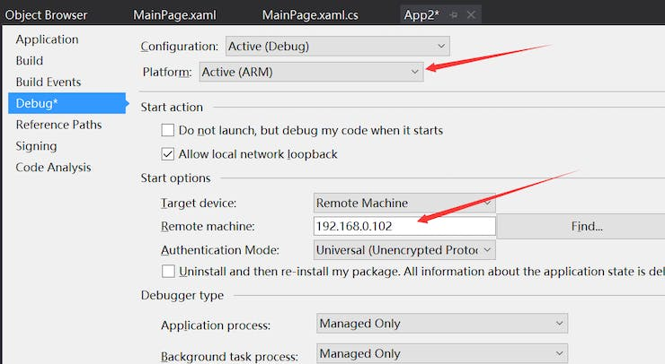 Figure 8 Deploy to IoT remote device