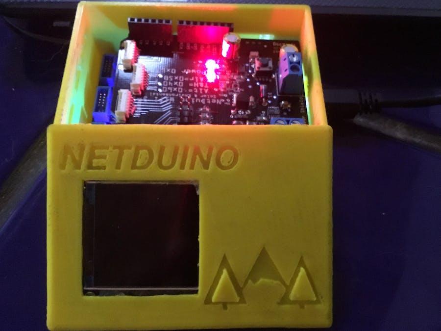 Netduino Environmental Sensor Project