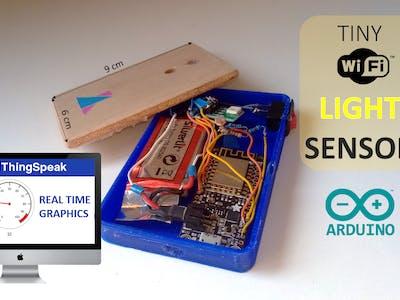 DIY WiFi Light Sensor