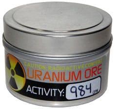 Uranium Ore sample from Images Scientific