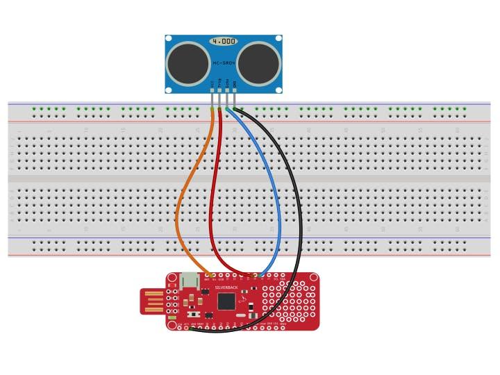 Calculate Distance Using Ultrasonic Sensor and Surilli Basic