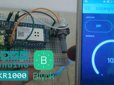 Arduino MKR1000 & Blynk