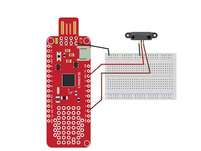 Line Detection Using IR sensor and Surilli Basic M0
