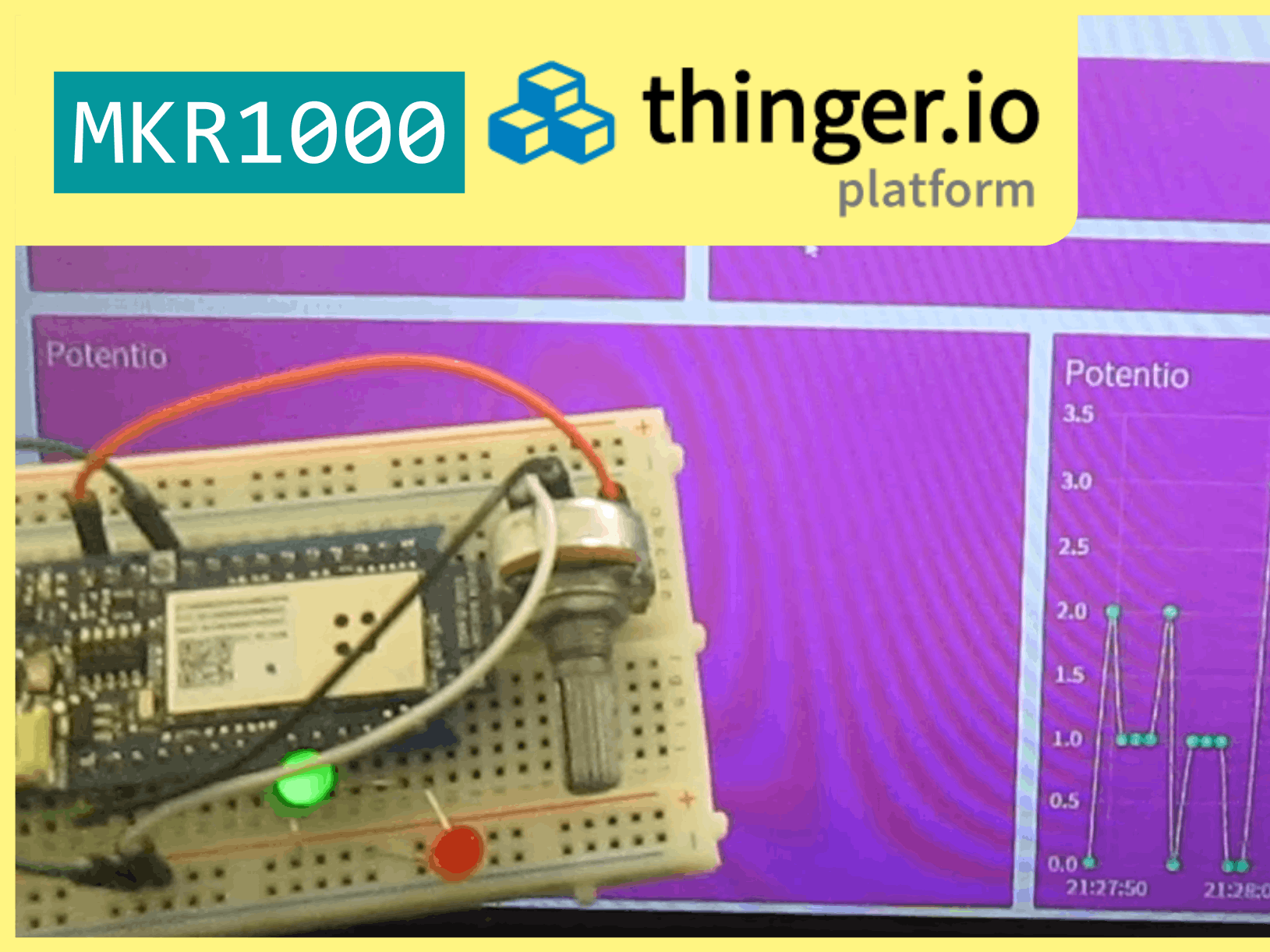 Arduino MKR1000 & Thinger
