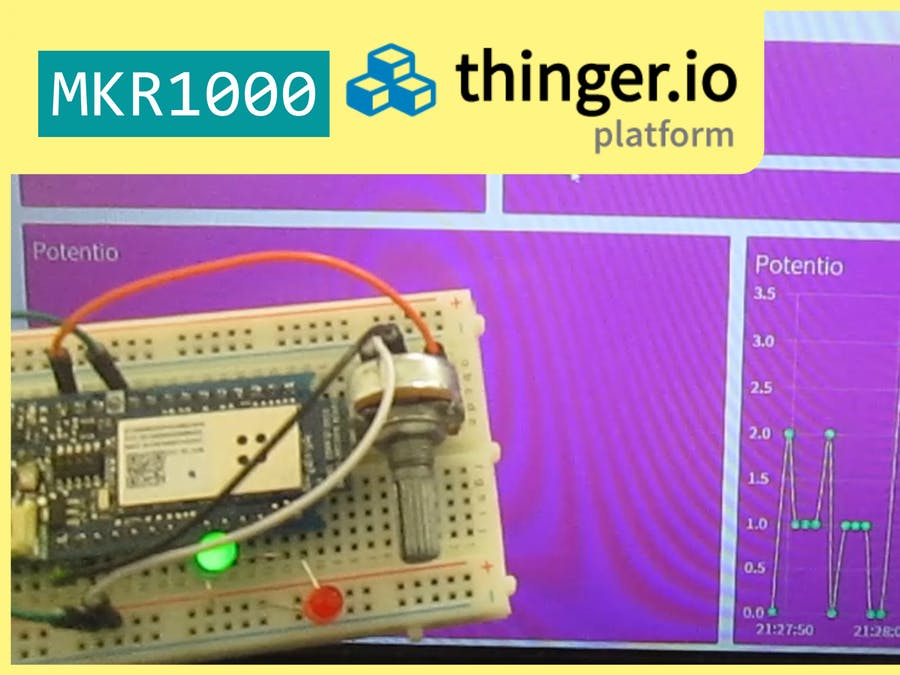 Arduino MKR1000 & Thinger