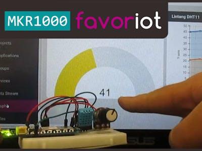 Arduino MKR1000 & Favoriot