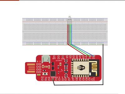 Interface an RGB LED with Surilli WiFi
