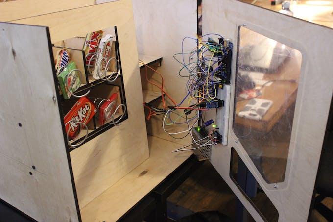 Vending machine built up at NoiseBridge SF