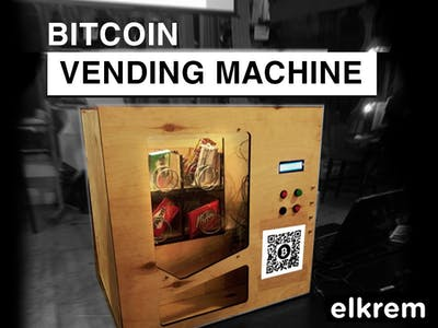 Arduino-Based Bitcoin Candy Vending Machine