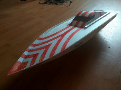 Arduino Bluetooth Boat