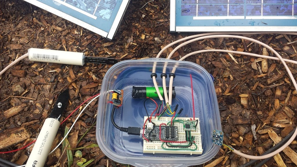 Solar Powered Field Sensors
