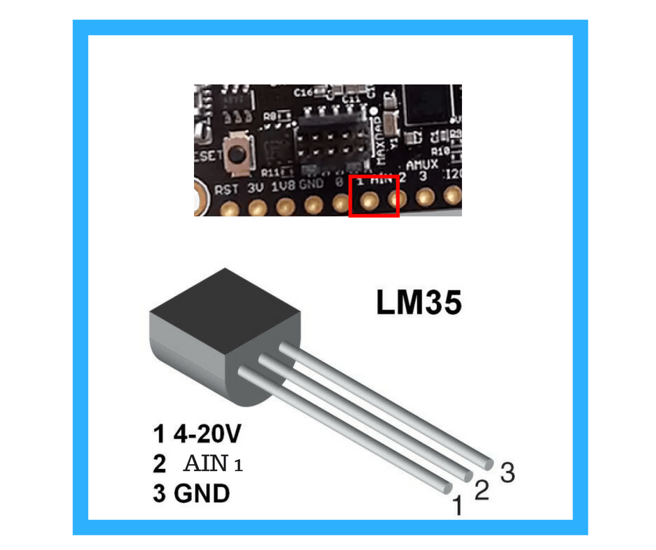 conection Transistor LM35