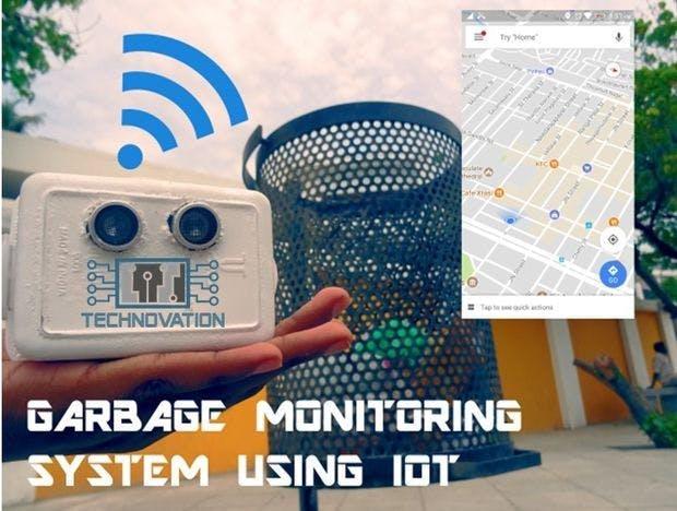 Garbage Monitoring System using IOT
