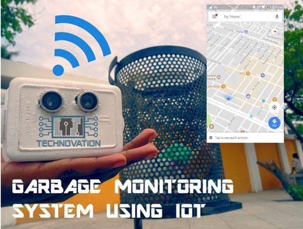 Garbage Monitoring System using IOT
