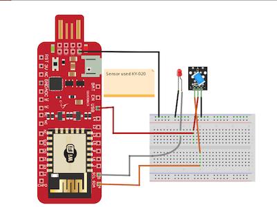 Detect Vibration and Tilt with Ball Sensor and Surilli WiFi