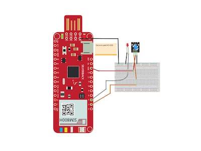 Detect Vibration and Tilt with Ball Sensor and Surilli GSM