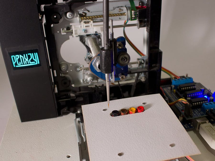 PENXZYL 3.0 :: Arduino Brush Plotter :: CNC