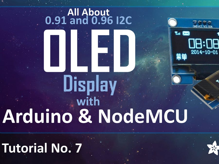 I2C OLED Display Using Arduino/NodeMCU