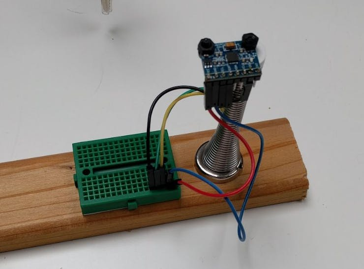 First version of the joystick