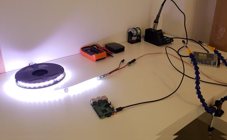 Using the Apa102 LED strip for the first time