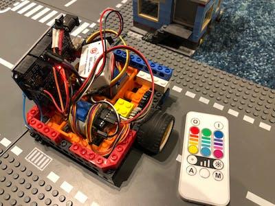 Lego Stepperbot