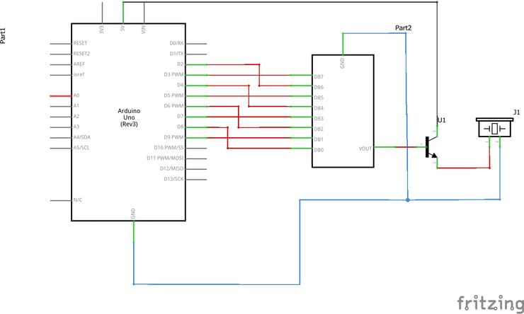 Generating Audio with an Arduino and a Resistor Ladder DAC - Hackster io