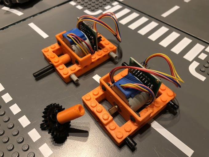 The Lego stepper motor block!