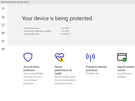 Enable / Disable Windows Defender Security Center