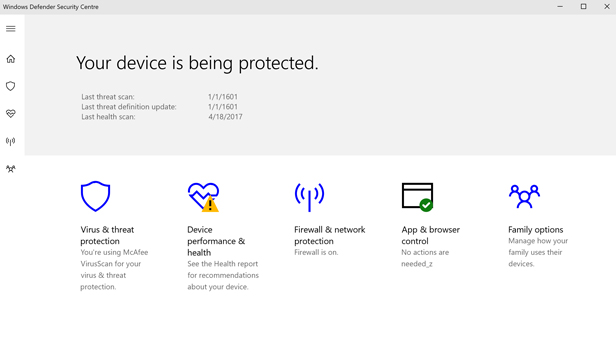 how to close windows defender security