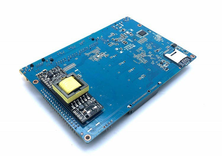 Banana Pi BPI-R64 with PoE module onboard