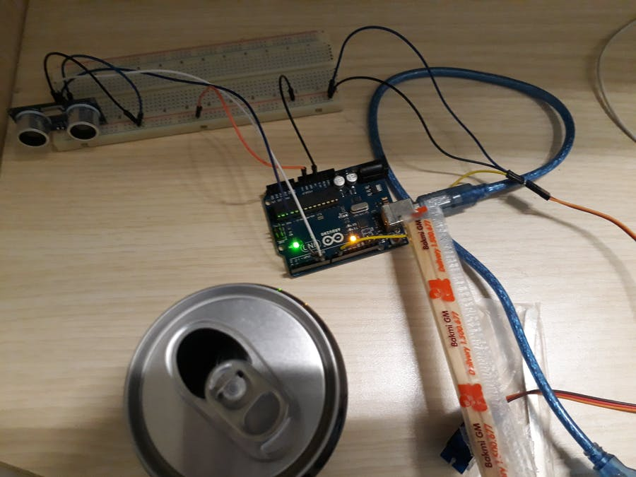 Soda Can Alarm
