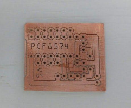 PCF8574 PCB