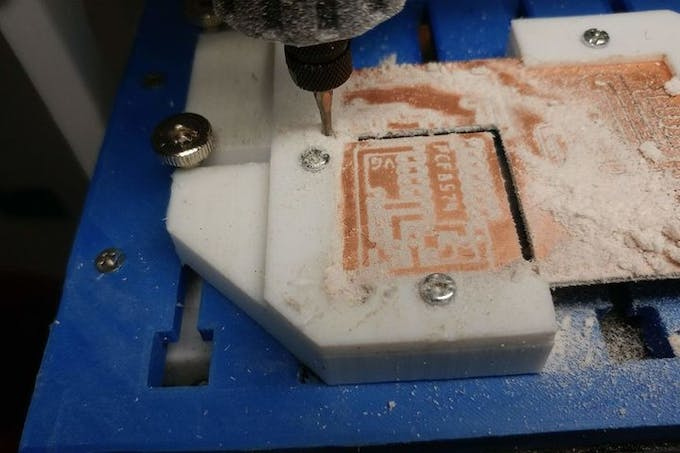 PCF8574 milling PCB