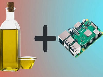 Oil-Cooled Raspberry Pi