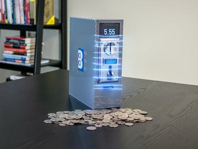 Capacitive Coin Bank