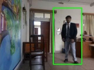 Human Detection using Rpi Computer Vision