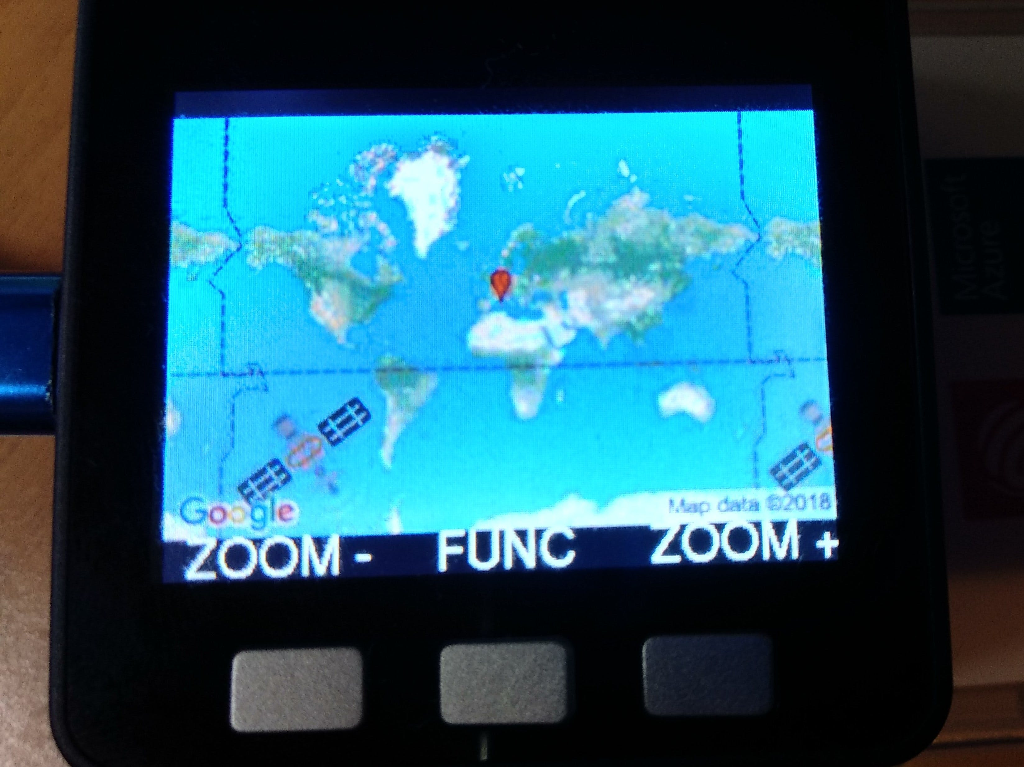 ESP32 ISS Tracker