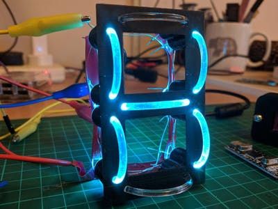 Lightpipe 7-Segment Display