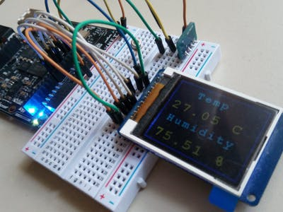 Indoor Weather Monitoring with a Zynq FPGA