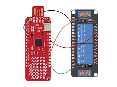 Relay Shield Control Using Surilli Basic M0