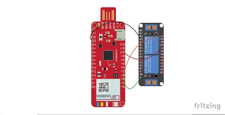 Relay Shield Control using Surilli GSM - Hackster io