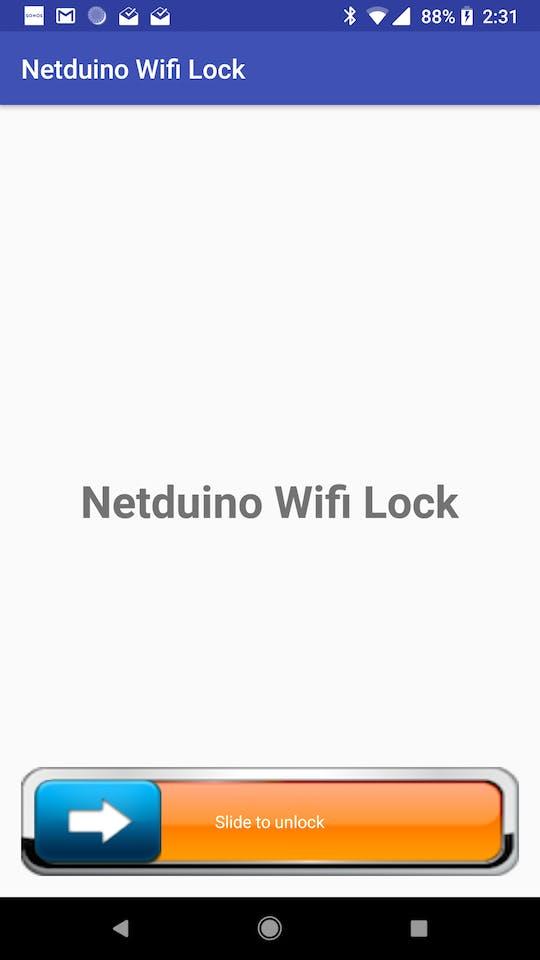 Netduino WiFi Lock - Hackster io