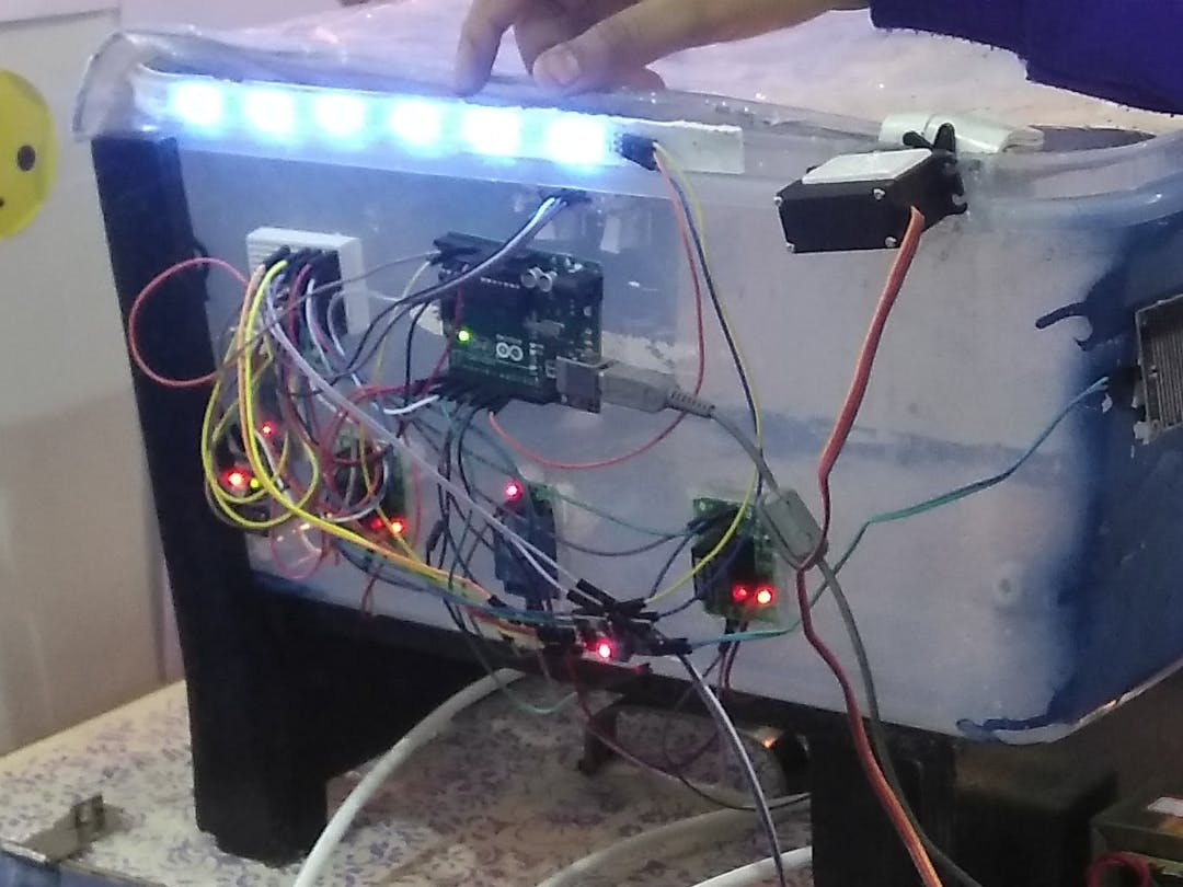 Project Aquatix 6 IoT Water Harvesting System