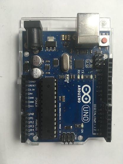 A. Arduino UNO board.