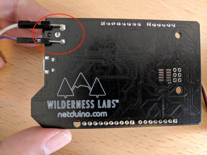 Modified Netduino with 12v Output