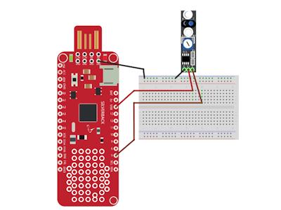 Avoidance Sensor Using Surilli Basic M0