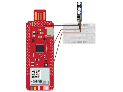 Avoidance Sensor Using Surilli GSM